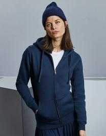 Ladies` Authentic Zipped Hood Jacket